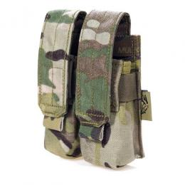 ポーチ:MOLLE Double 9mm Mag Pouch Ver.FE  [取寄KW] [FY-PH-P005]