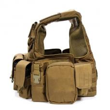 ベスト:Force Recon Vest with Pouch Set Ver.Land [Mサイズ] [取寄KW] [FY-VT-M005]