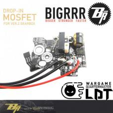 MOSFET Ver.2ギアボックス用 後方配線 [BR-BT-0002] [取寄]