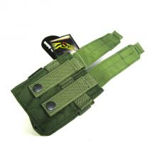 ポーチ:MOLLE Double 9mm Mag Pouch Ver.FE [FY-PH-P005] OD [取寄]